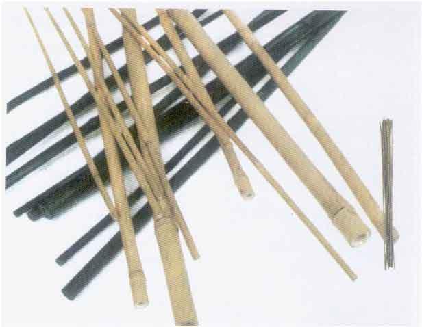 Canne di bamb confezione da 6 semilandia for Canne di bambu per pergolati