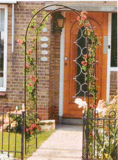 Arco da giardino semilandia for Arco decorativo giardino