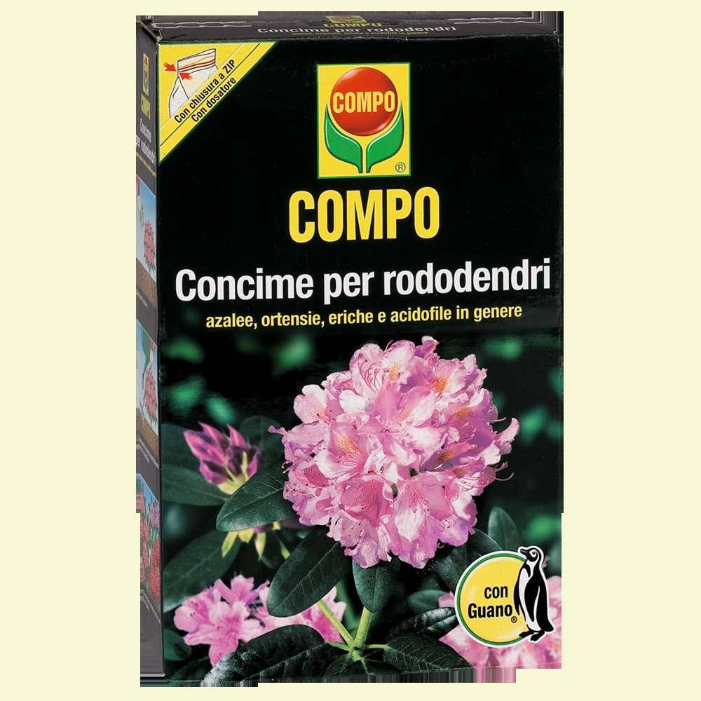 Compo concime rododendri semilandia for Concime per ortensie