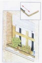 Fermo di sicurezza per finestre cm 59 110 semilandia - Portavasi da finestra ...