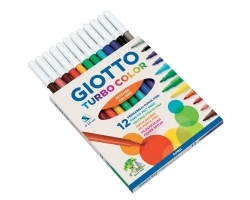 Giotto Pennarelli Turbo Color 12 pz